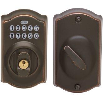 schlage electronic locks. Camelot Electronic Keypad Single Cylinder Deadbolt Schlage Locks K